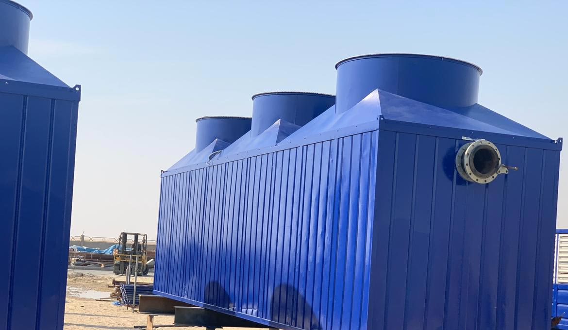 Refurbishment Of Temporary Cooling Towers